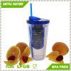 최신 판매 BPA는 밀짚과 Infuser 22oz를 가진 공이치기용수철을 해방한다