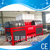 PVC doble Pipe Shredder Machine de Shaft con New Design