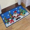 Christmas feito sob encomenda Door Mats com o Logo para Promotion