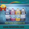 Tinta Textil sublimación digital para transferir Tejido de poliéster / Deportes Caps / café / cojín de ratón / Porcelana