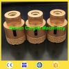Hohes Qualit Vacuum Brazed Diamond Core Drill Bit für Ceramic Tiles Marble Limestone Granite