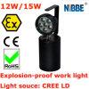 Atex de luces de trabajo LED de explosiones