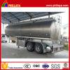 de 2axles 35000liters de petróleo del buque de aluminio de la aleación de gasolina del depósito acoplado semi