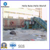 Semi-automática de residuos de papel Máquina de la prensa De Hellobaler (HSA4-5)