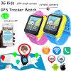 Les langages multiples 3G badine la montre de traqueur avec l'appareil-photo tournant (D18)