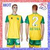 Overhemd van uitstekende kwaliteit van het Voetbal van China van de Sportkleding het Mens Gesublimeerde (c212)