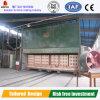 Horno de túnel para la fabricación encendida del ladrillo