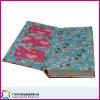 Livre à couverture rigide avec couvertures découpées