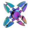 O brinquedo do girador da inquietação, cor do arco-íris do girador da mão dos caranguejos do quadrilátero alivia Anxiet