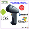 인조 인간 또는 Ios 또는 Windows Compatible Wireless Bluetooth Barcode Scanner (WTS-BT10)