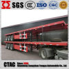 Fábrica Direct 3 Axle Flatbed Semi Trailer para Sale
