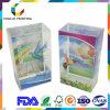 China-Manufaktur-Zubehör-transparenter Plastikvertrag mit Farben-Drucken