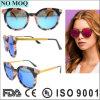 Senhora italiana Óculos de sol da forma do desenhador com lente polarizada