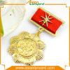 Pin élégant d'insigne d'or de métallisation