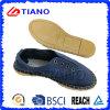 Ботинки женщин плоских и удобных рыболова сандалий способа вскользь (TN36709)