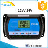 12V/24V 20A USB-Betriebstemperatur-Solarladung/Einleitung-Controller Rtd-20A