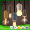 Luz pendiente de la vendimia hormigón de la lámpara de interior Cemento
