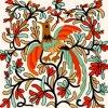 Lenço de seda quente da impressão da alta qualidade 100% Digital do Sell ()