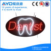 Oval de Hidly o sinal do diodo emissor de luz do dentista de América