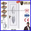 Diseño sólido de la puerta del PVC del MDF de la alta calidad de China