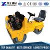 二重ドラム道ローラー機械の道ローラーの土地の舗装のコンパクターの振動の重量
