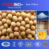 Constructeur diététique de poudre de fibre de soja de la qualité Non-OGM