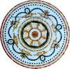 室内装飾のための大理石のフロアーリングのWaterjet円形浮彫り