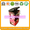 음식 주석 상자 포장을%s 정연한 완벽한 커피 주석 콘테이너