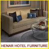 Sofá de madera moderno del asiento de los muebles 3 del dormitorio del hotel