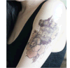 Tattoo искусствоа стикера Tattoo модного тела водоустойчивый временно