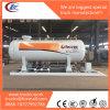 estación usada dimensión del recipiente del reactor de la estación del tanque del patín de 15kl LPG
