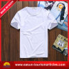 Pleine T-shirt estampé par coutume professionnelle de sublimation (ES3052524AMA)