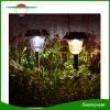 Lumière extérieure de voie de pieu d'énergie solaire d'éclairage de lampe de décoration d'horizontal de yard de pelouse de jardin