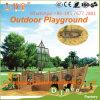 공원 (WOP-060A)를 위한 목제 옥외 운동장