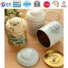 Китайский чай упаковывая персонализированное олово чая крышки