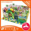 Привлекательное крытое скольжение спортивной площадки лабиринта для детей