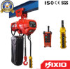 380V/50Hz 0.5t, 1t, 1.5t, 2t Electric Chain Hoist avec Trolley