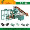 Qt4-20 Semi Automatic Concrete Block Brick Machine pour le Soudan
