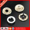 Aceptar botón del broche de presión de la ropa de los colores del equipo de los nuevos productos del OEM el vario