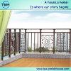 Горячая окунутая гальванизированная загородка балкона утюга Wrougt