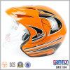 De speciale Oranje DwarsHelm van de Motorfiets (OP222)