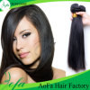 Extensión del pelo humano mayorista brasileña virginal del pelo recto