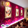 Formaldehído-Free Decorative Interior Soft 3D Wall Paneling