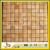 Естественное Yellow Honey Onyx Mosaic Tile для Wall Decoration