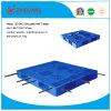 Op zwaar werk berekende Plastic Pallet Reinforced (met 7 staalbuizen)