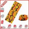 Bandana sans couture multifonctionnel de tube de cou de Microfiber de polyester