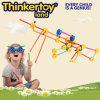 Brinquedo plástico da instrução do bloco de apartamentos do produto do brinquedo DIY para miúdos