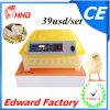 Le CE a reconnu l'incubateur de 48 oeufs utilisé dans la ferme et la maison