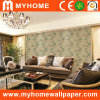 Parede Decorative Paper Wall Paper com Deep Embossed Flower