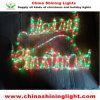 Feliz Navidad blanca blanca caliente LED Ropelights del color multi